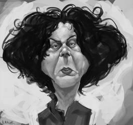 sketch 4 jack white by ALMAGOR