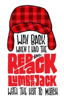 Red And Black Lumberjack by JayRoeder