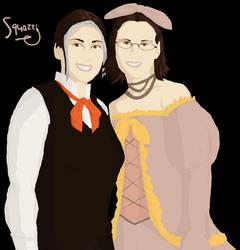 Lasso 12  'Rin and Len' by squazilla