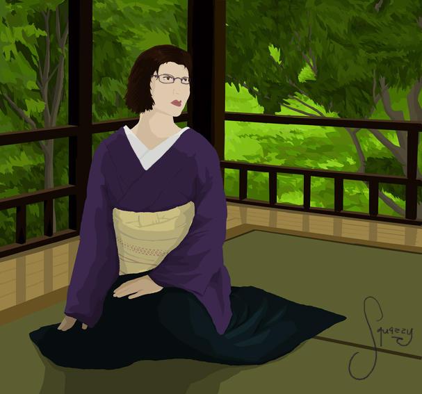 Lasso 20, kimono by squazilla