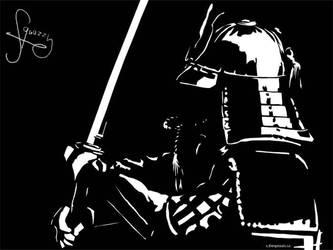Lasso 21, samurai by squazilla