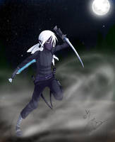 FR : Drizzt In motion by DarkHalo4321