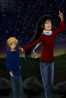 Commission : Star gazers by DarkHalo4321