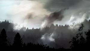 Misty Mountains by DarkHalo4321