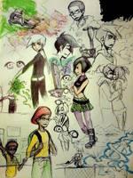 DP : collage by DarkHalo4321
