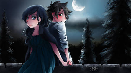 MA : Moonlight Serenade by DarkHalo4321