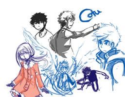CotU : Doodles by DarkHalo4321