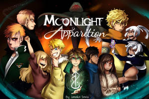 Moonlight Apparition Wallpaper by DarkHalo4321
