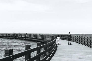 on the seashore by bonangBarung