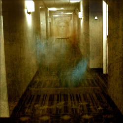 Ghost in the Motel by myrnajacobs
