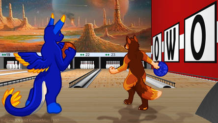 Bowling Alley by Yellow-K9