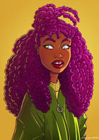 Curly Hair by tami05
