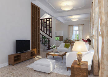 My Dinh villa interior 3 by jinkazamah