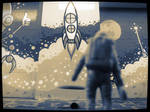 Space Man Project 13 by SilentHamish