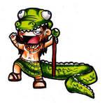 Jerrus: King of Crocs by AbbieSTABBY