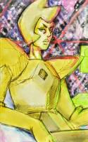 Yellow Diamond by megangairart