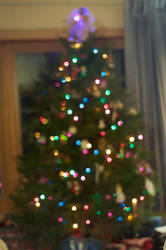 Christmas Tree in Abstract 2 by Celebrith