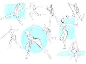 Figure and Gesture Study by aprrlea
