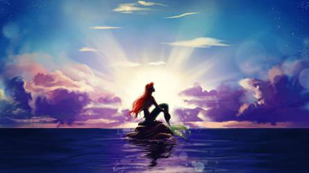 Mermaid Ariel by vopoha