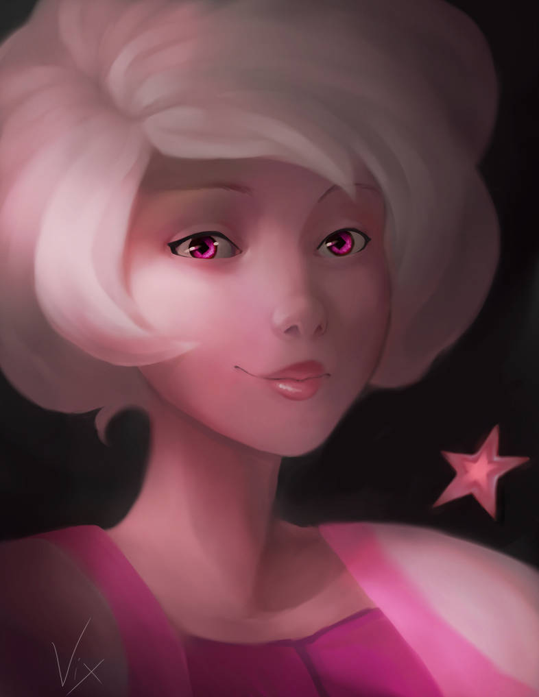 Last year I failed the challenge, so round 2 on post something every day this year- BEGIN! Wish me luck. First day of this year is Pink Diamond from Steven Universe.