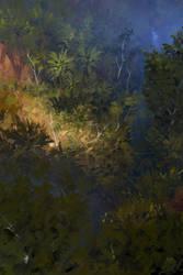 Jungle sketch by yakonusuke