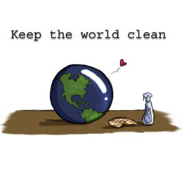 Earth Day: Keep it Clean by XylitolFairy