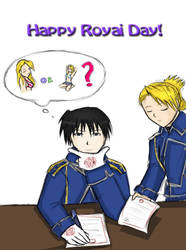 52 When Roy... :For Royai day: by XylitolFairy