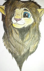 Phil lion by MintFireTheCat