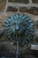 Lion head water fountain by Nexu4