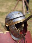 Roman age helmet legionaire by Nexu4