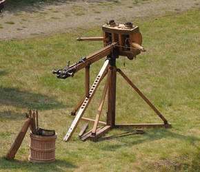 Roman Age small catapult by Nexu4