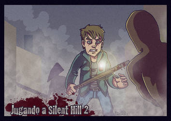 'Silent Hill 2' v2 by SpearGames