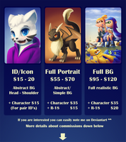 Commissions info *FULL* by streetdragon95