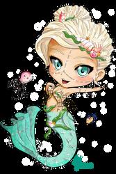 Mermaid Chibi by oOCrazyKittyOo