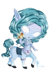 World of Warcraft Creatures: Frost Nymph by oOCrazyKittyOo