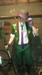 The Riddler 1 by Nick-of-the-Dead