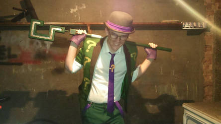 The Riddler 2 by Nick-of-the-Dead