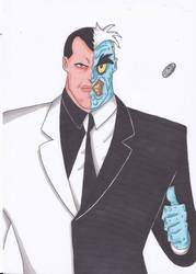 Two Face by Nick-of-the-Dead