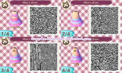 QR Code: Mizu's Dress by Sugary-Stardust