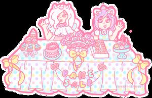 Bestie Bake Sale by Sugary-Stardust