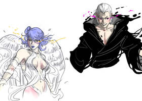 Reaper X Angel Close Up Designs by invisibleninja12