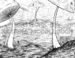 The Extinct Horned Jellies of Yesteryear by turp