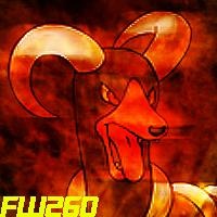 FlameWarrior26's icon by UmbraDragonX