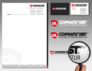 Corporate ID Comartist by pinselstrich