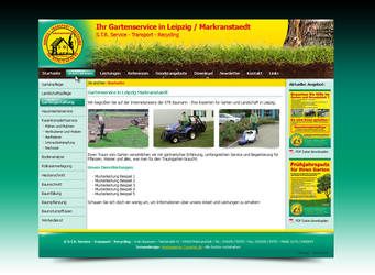 STR Gartenbau by pinselstrich
