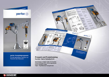 Corporate brochure Cranes by pinselstrich
