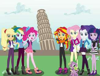 MLP EqG in Italy! by EninejCompany