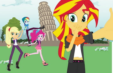 MLP EqG Fun shot in Italy by EninejCompany