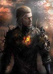 Wesker in the world of fantasy ^^ by Fanat08