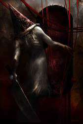 Pyramid Head . Silent Hill 2 by Fanat08